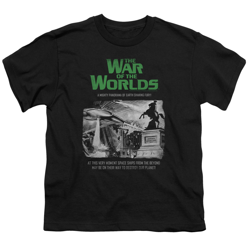 The War Of The Worlds Attack People Poster Big Boys Shirt