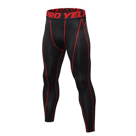 Men Compression Base Layer Pants Quick Dry Sport Leggings Running Gym Trousers