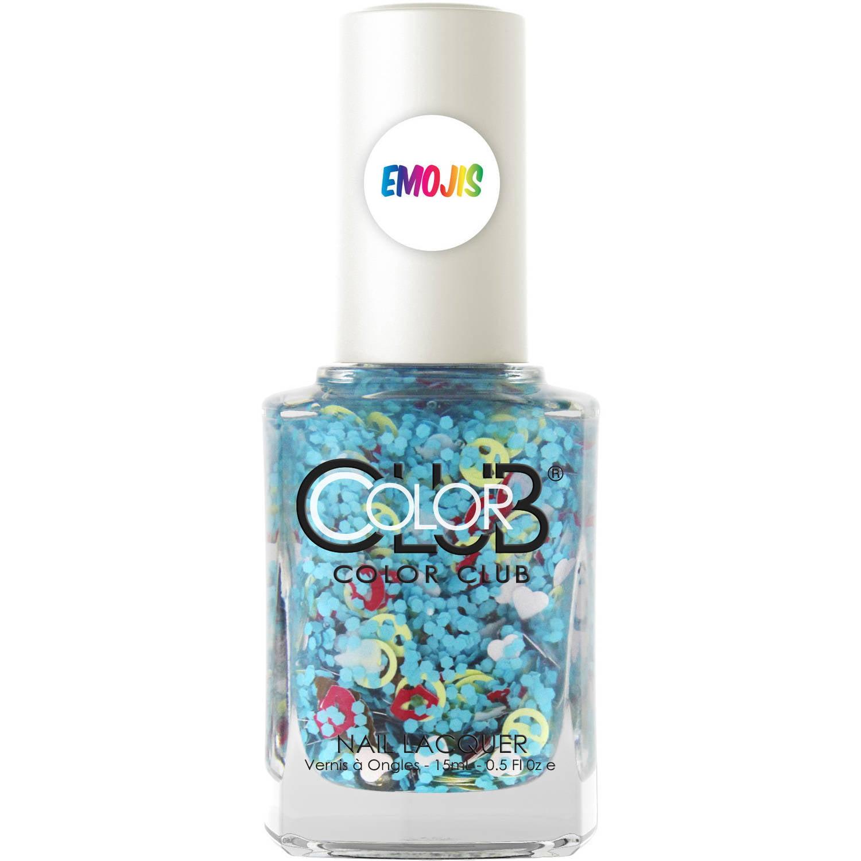 Color Club Nailmoji Nail Lacquer, CHILL, 0.5 fl oz