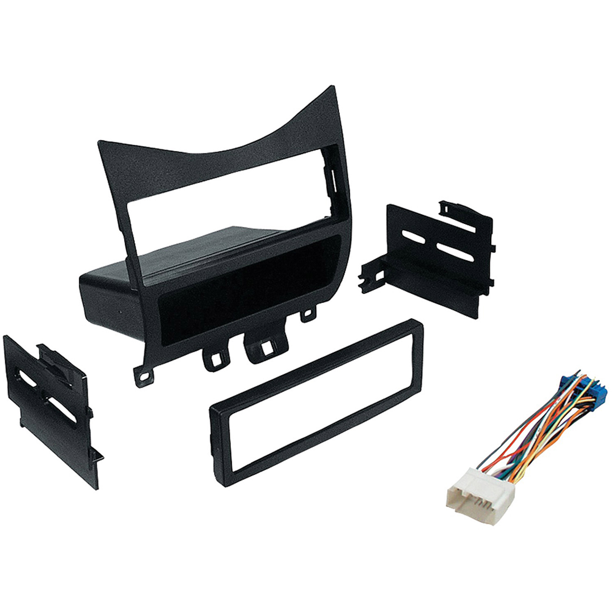 Best Kits BKHONK823H In-Dash Installation Kit (Honda Accord 2003 and Up with Harness, Radio Relocation to Factory Pocket Single-DIN)