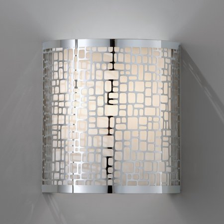 Feiss WB1564CH Joplin Wall Sconce - 8W in. Chrome