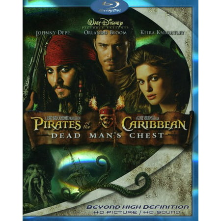 Pirates of the Caribbean Dead Mans Chest [Blu-ray]