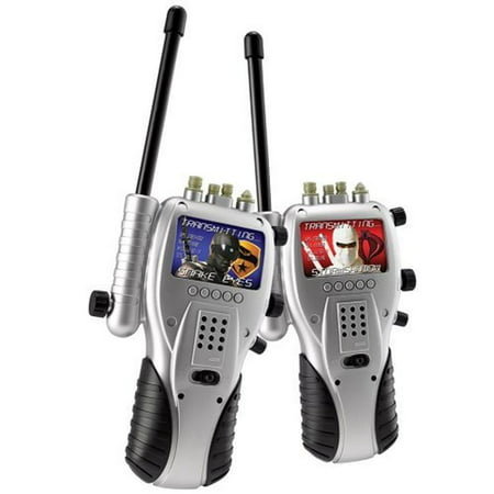 GI Joe Walkie Talkies Set Army Hero Communicators