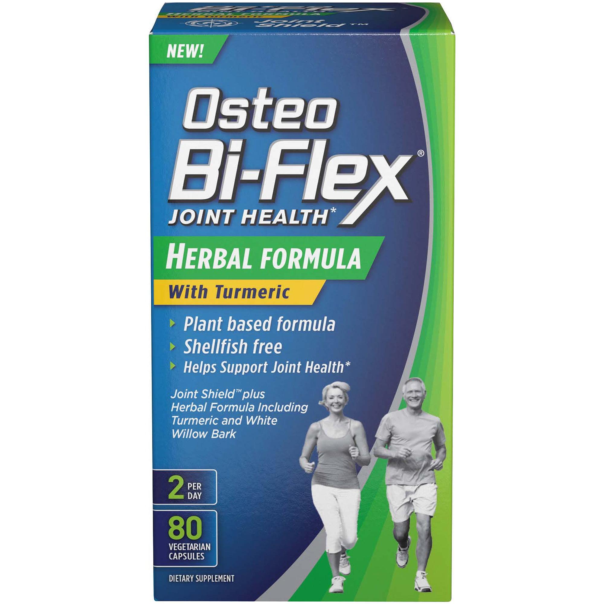 Osteo Bi-Flex - Joint Health Herbal Formula with Turmeric - 80 Capsules