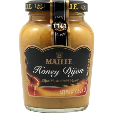 Four 3 Oz Honey - (2 Pack) Maille Honey Dijon Mustard8 Oz