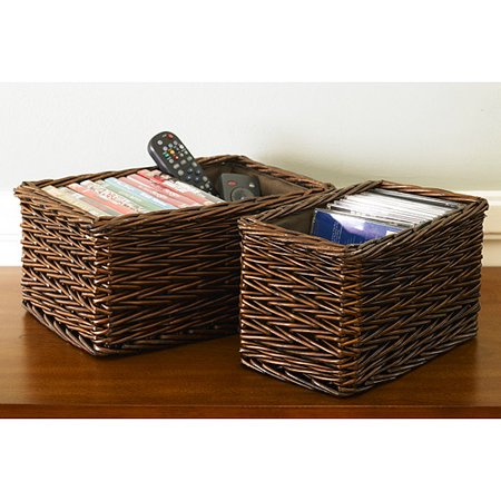 Canopy Handwoven Willow Storage Baskets