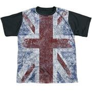 The Who Union Jack Big Boys Sublimation Shirt
