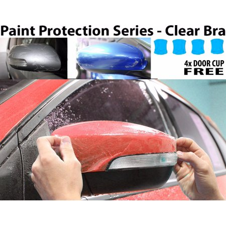 Perfect Fit PreCut Sheets Paint Protection Clear Bra Film Kit (Mirrors Only) for 2017 Volkswagen