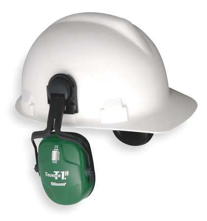 HONEYWELL HOWARD LEIGHT Ear Muffs,Hard Hat Mounted,NRR 23dB 1011601