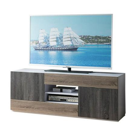 Smart Home Modern Rectangular TV - Rectangular Stand
