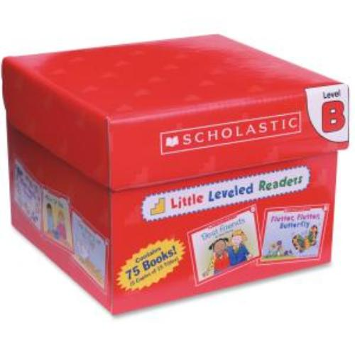 Scholastic Little Leveled Readers: Level B Box Set Education Printed Book - English - Published On: 2003 August 1 - Book (shs-0545067685)