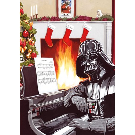 Buffalo Games Star Wars A Very Vader Christmas Puzzle, 300 Piece