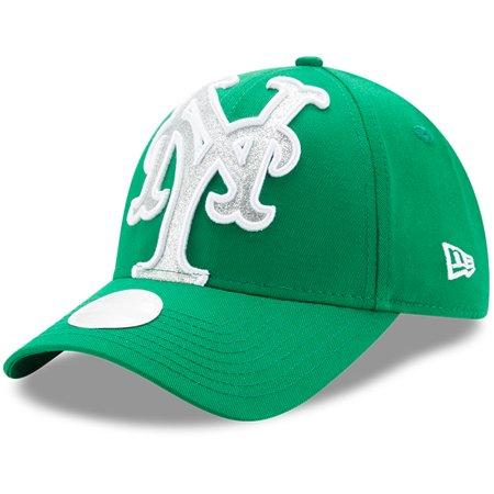 9f4072cf New York Mets New Era Women's Glitter Glam St. Patrick's Day 9FORTY  Adjustable Hat - Kelly Green - OSFA