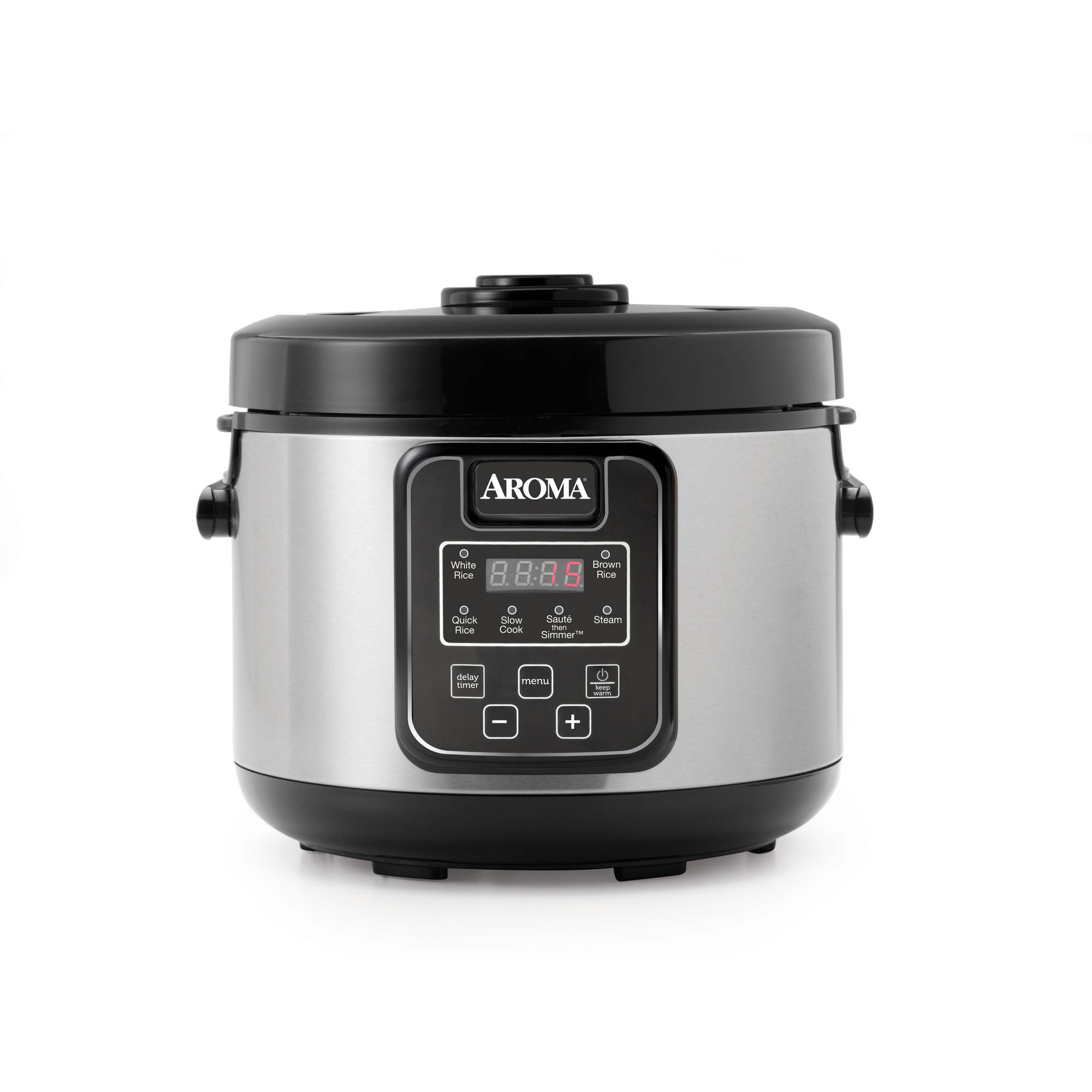Aroma 16-Cup Digital Rice Cooker, Slow Cooker and Food Steamer ...