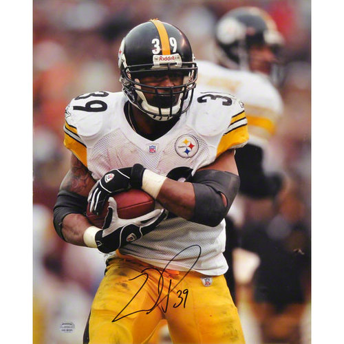 NFL - Willie Parker Pittsburgh Steelers - Protecting the Ball - 16x20 Autographed Photograph