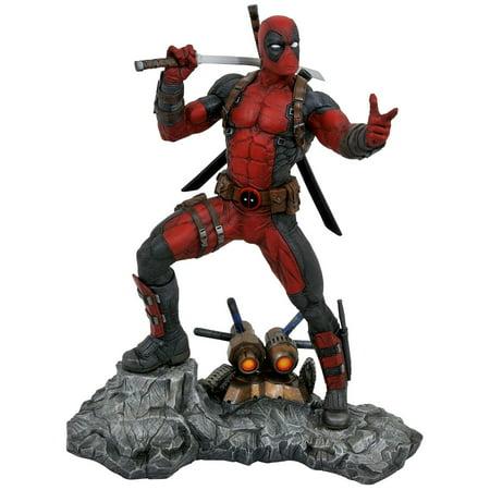 Deadpool Stats (Marvel Premier Collection Deadpool)