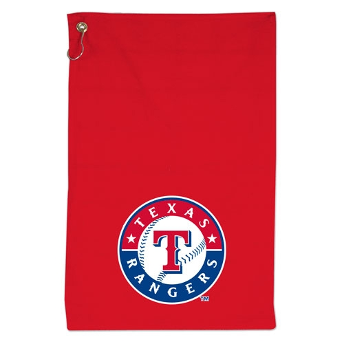 Wincraft Texas Rangers 16'' x 25'' Sports Golf Towel - Red - No Size