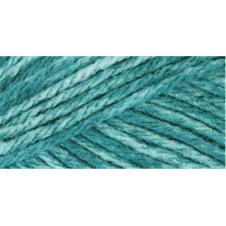 Mary Maxim Starlette Yarn - Teal Heather - 100% Ultra Soft Premium Acrylic (Deep Teal Heather)