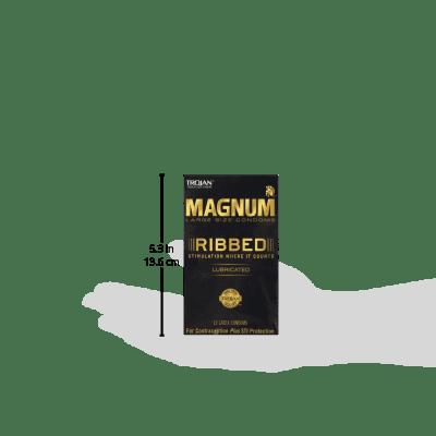 Magnum Ribbed Condoms 12ct Best Condoms