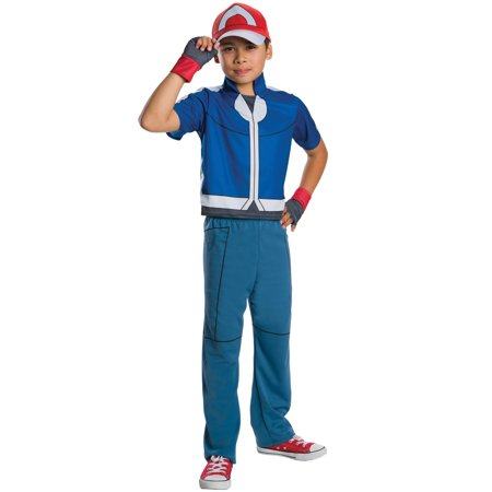 Deluxe Ash Child Costume (Ash Ketchum Costume Men's)