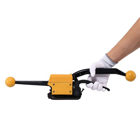 VEVOR Steel Strapping A333 Manual Sealless Combination Tool Steel Belt Packing Machine for 1/2Inch to 3/4Inch Steel Straps