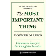 The Most Important Thing - eBook