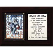 C&I Collectables NFL 6x8 Emmitt Smith Dallas Cowboys Career Stat Plaque