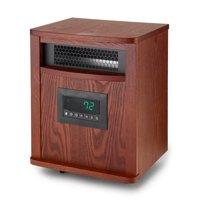 Lifesmart ZCHT1097US 6 Element 1500W Portable Infrared Quartz Mica Space Heater