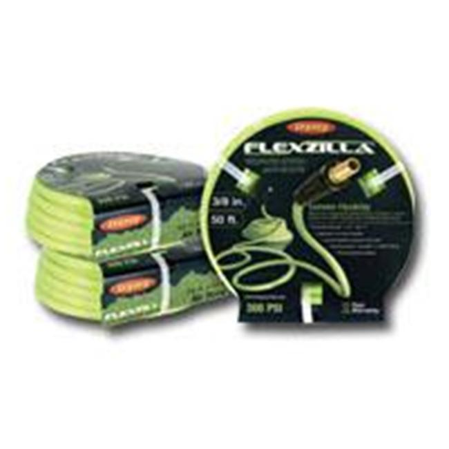 Legacy Manufacturing LEGHFZ3850YW2 Flexzilla 3/8in x 50yd Yellow Air Hose with 1/4 Inch MNPT Ends - image 1 of 1