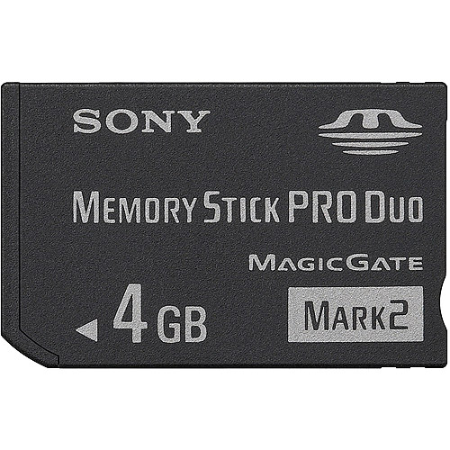 Sony MSMT4G/TQ 4 GB Memory Stick PRO Duo