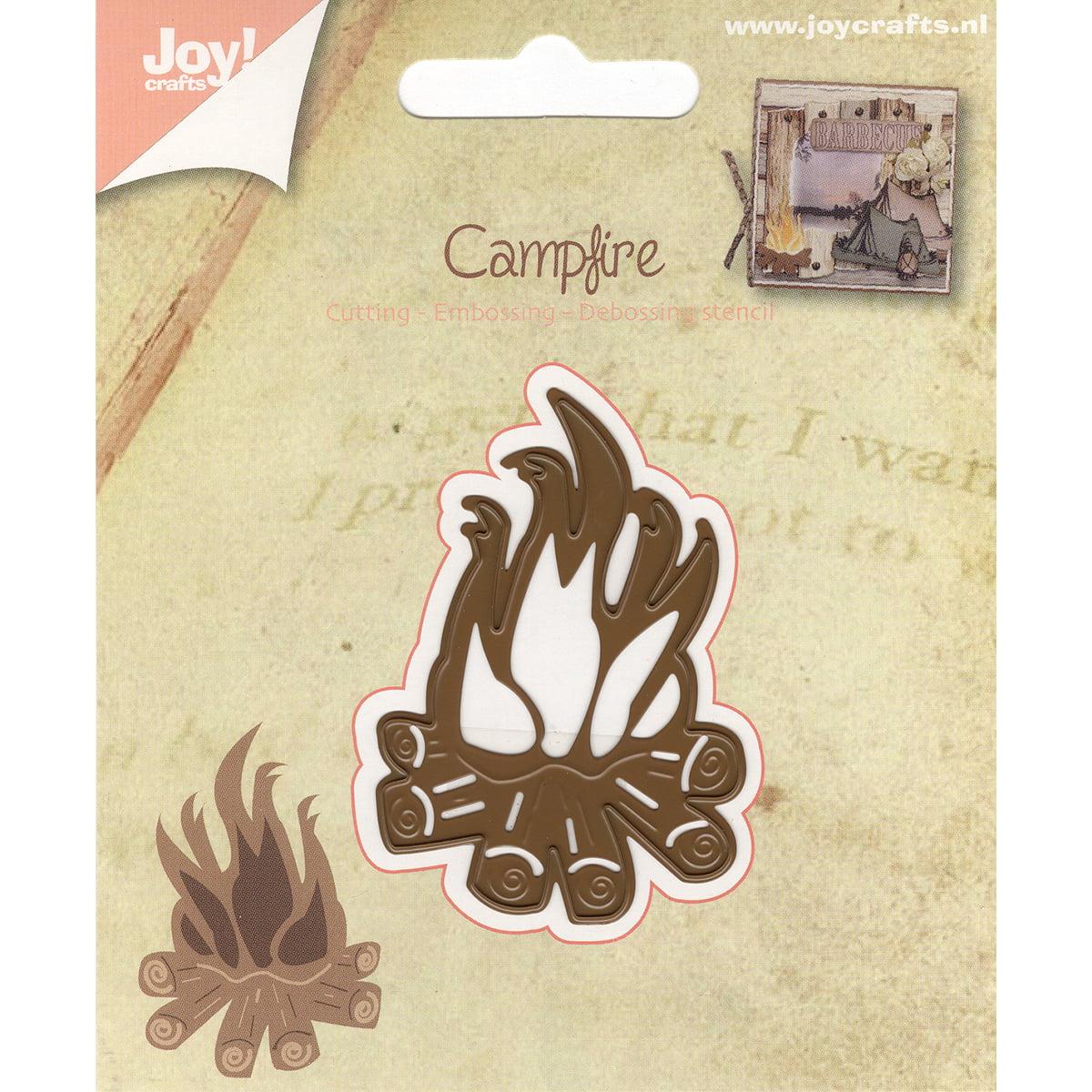 Joy! Crafts Cut, Emboss & Debossing Die-Campfire