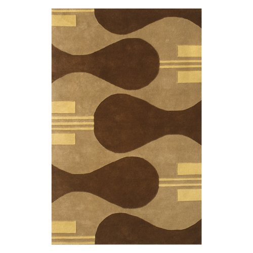 Noble House Eleen Area Rug - Camel/Brown