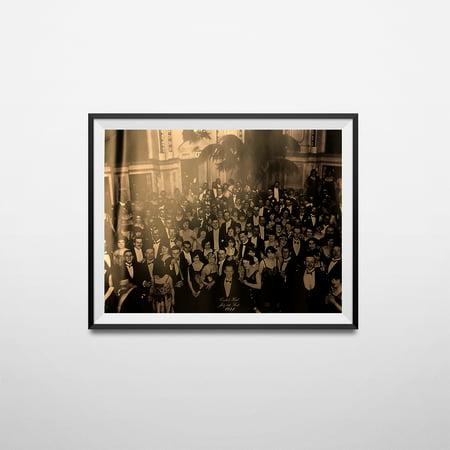 The Shining Overlook Hotel Ballroom Photograph LARGE Jack Nicholson Movie Poster - Hostal Movie