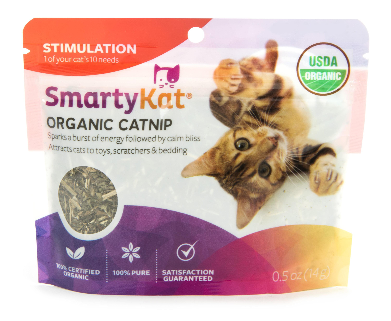 SmartyKat Organic Catnip Pouch 0.5 oz. by Worldwise