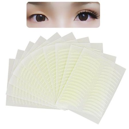 Zodaca 320 Pairs Fiber Breathable Double Eyelid Sticker Tape Technical Eye Tapes (2-Pack Bundle) (Net Eyelid Tape)