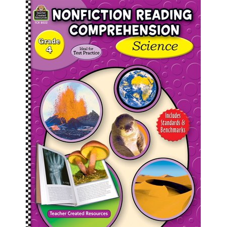 Nonfiction Reading Comprehension: Science, Grade 4 (Paperback) Nonfiction Reading Comprehension Set