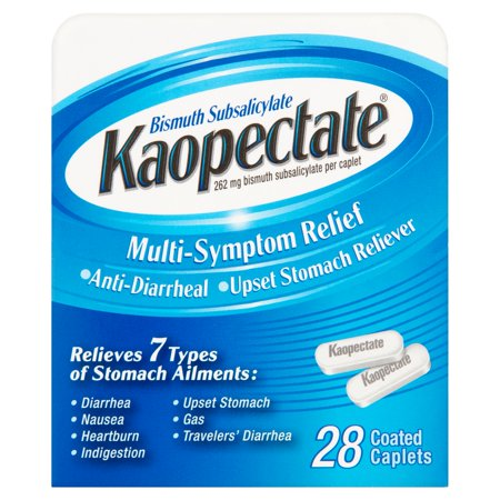 Kaopectate Multi-Symptom Relief Caplets 28ct (Best Thing For Upset Stomach And Diarrhea)