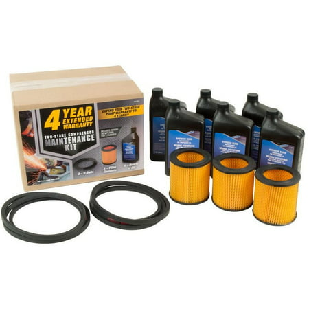 Industrial Air 165-0321 Maintenance Kit For 7.5 HP Two Stage Air Compressors