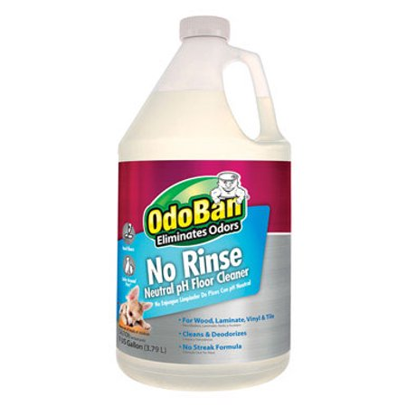 Rinse Filter Cleaner - OdoBan No Rinse Neutral pH Floor Cleaner Concentrate, 1 Gal