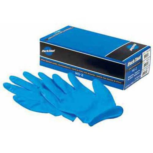 Park Tool Gloves, Nitrile MG-2, Large box of 100