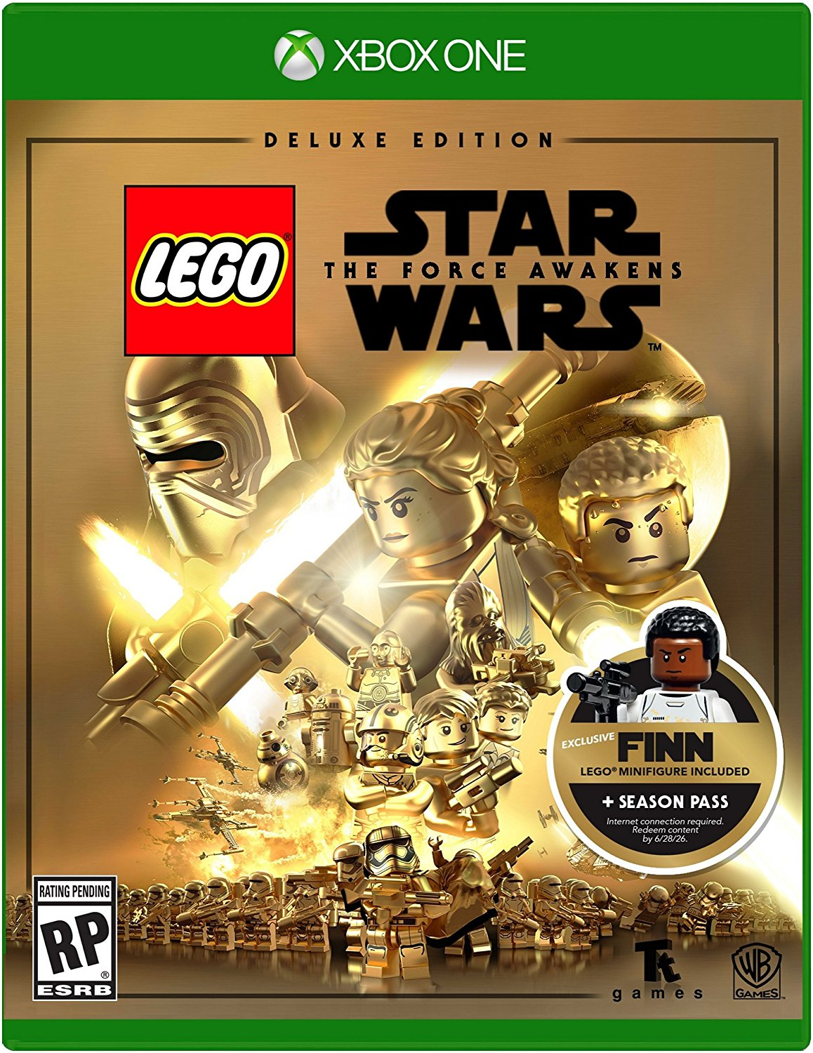 Warner Bros. Lego Star Wars The Force Awakens Deluxe Edition (Xbox One) by TT Games Ltd