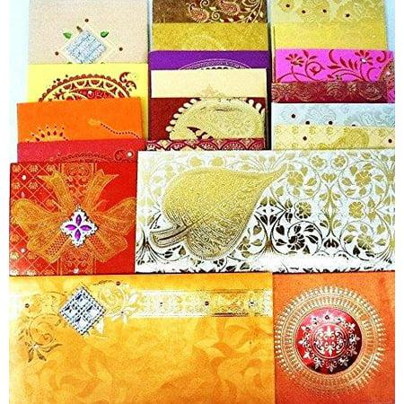 Wedding Gift Envelope Designs : GIFT ENVELOPE CARD MONEY HOLDER FANCY PACKET FOR WEDDING ...