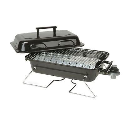 Portable Square Tabletop Gas Grill - 19 x 11.5""