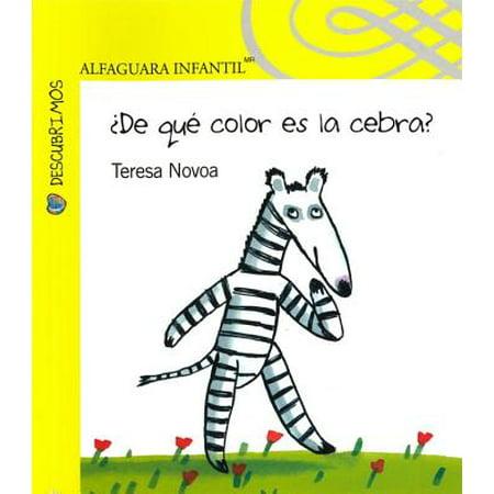 de Que Color Es La Cebra?