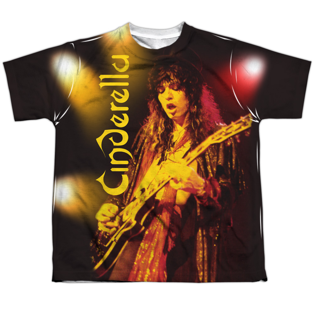 Cinderella Live Show (Front Back Print) Big Boys Sublimation Shirt