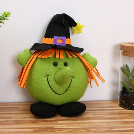 Halloween Decoration Pendant Cartoon Witch Pumpkin Small Hanging Child