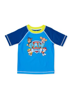 Paw Patrol Baby Toddler Boy Rashguard Swim Shirt