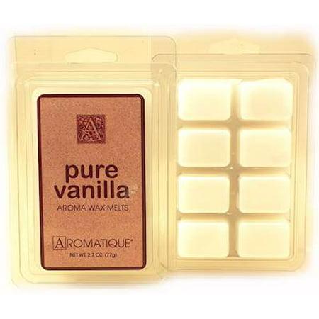 Vanilla Wax - PURE VANILLA WAX MELT 2.7 oz by Aromatique