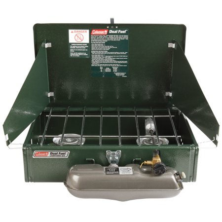 Guide Series Dual-Fuel Camping Stove 2 Burner (Multi Fuel Wood Stoves)