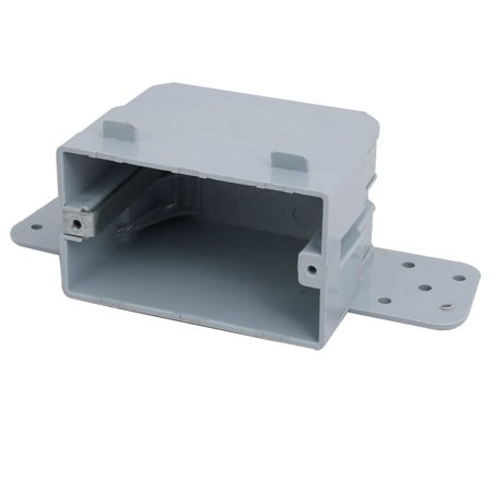 Unique Bargains 165mmx55mmx70mm Single Gang Electrical Junction Outlet Box Enclosure Case